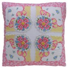 Vintage Handkerchief Pillow