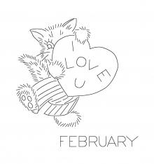February Cat