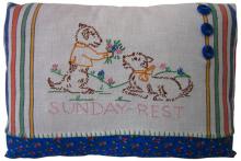 PL066 Sunday Dogs 12x16 $21