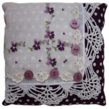 Vintage Handkerchief Sachet